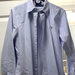 Men's Ralph Lauren Blue Classic Button Down